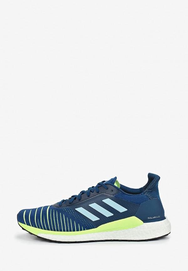 adidas | синий Мужские синие кроссовки adidas резина | Clouty