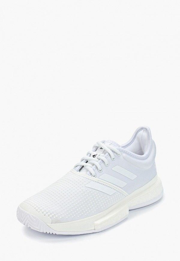 adidas | белый Женские белые кроссовки adidas резина | Clouty