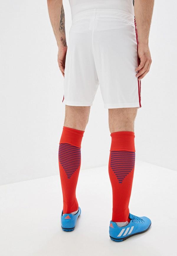 adidas | белый Мужские белые спортивные шорты adidas | Clouty