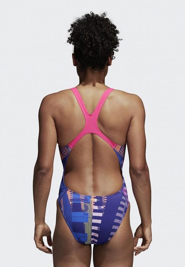 adidas   Фиолетовый купальник adidas   Clouty