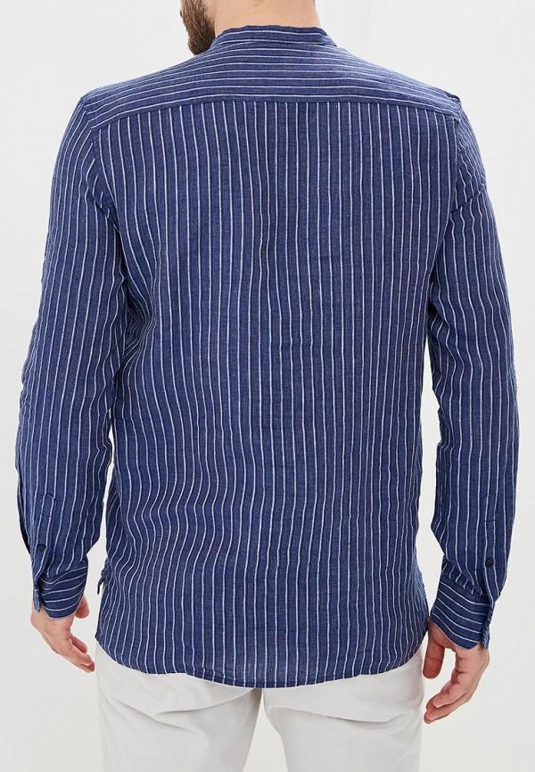 Adolfo Dominguez   синий Мужская синяя рубашка Adolfo Dominguez   Clouty