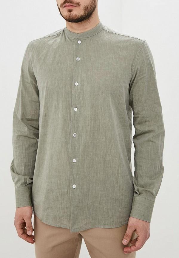 Adolfo Dominguez | хаки Мужская рубашка Adolfo Dominguez | Clouty