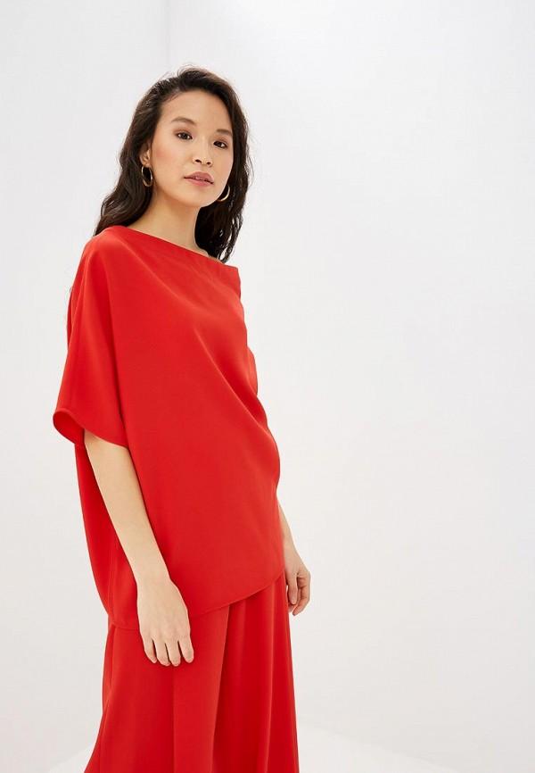Adolfo Dominguez   красный Женская красная блуза Adolfo Dominguez   Clouty