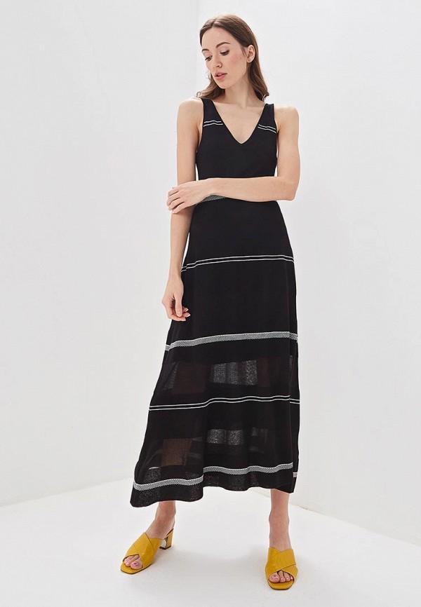 Adolfo Dominguez | черный Летнее черное платье Adolfo Dominguez | Clouty