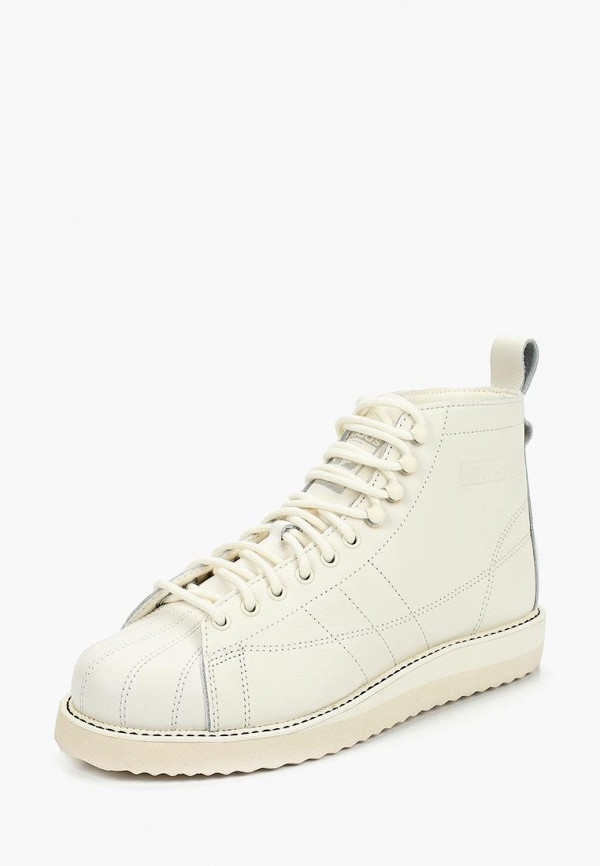 adidas Originals | белый Женские белые ботинки adidas Originals искусственный материал | Clouty