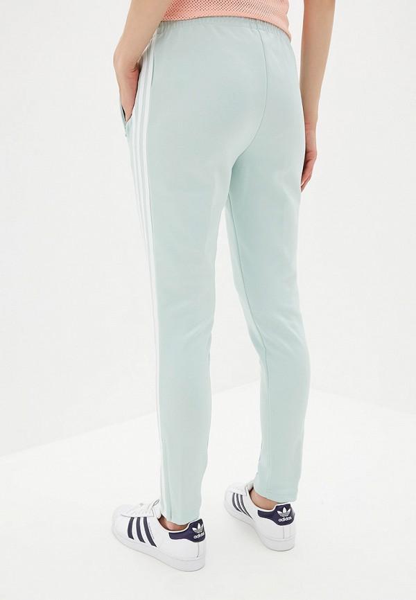 adidas Originals | бирюзовый Женские бирюзовые спортивные брюки adidas Originals | Clouty