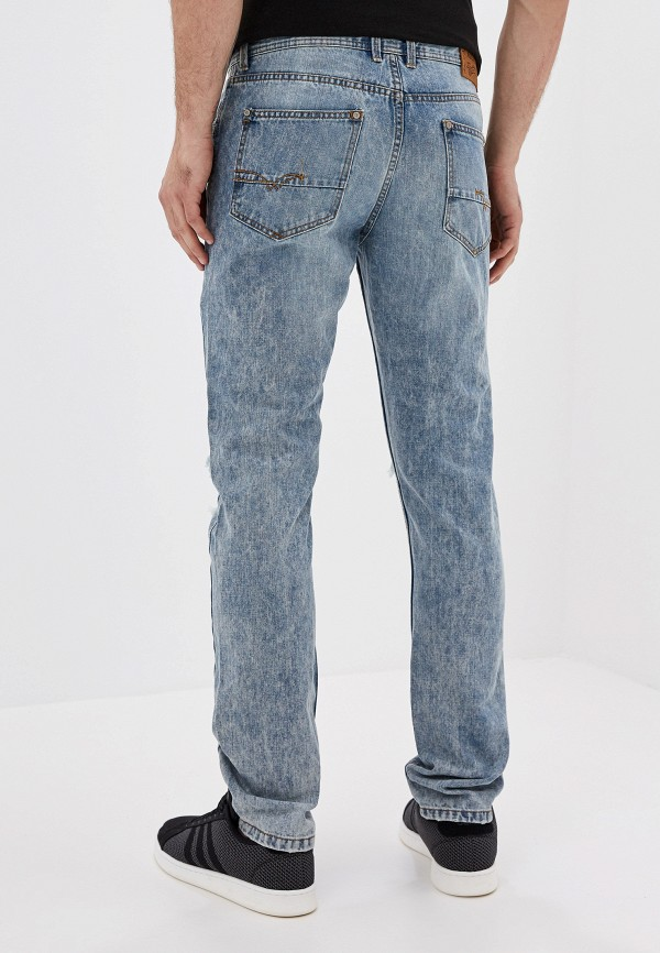 Alcott | синий Мужские синие джинсы Alcott | Clouty