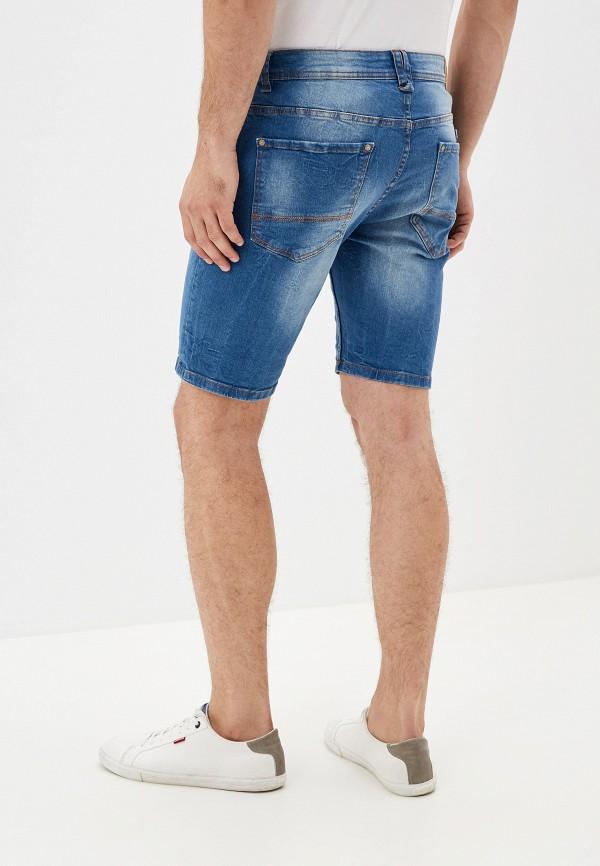 Alcott   голубой Мужские летние голубые джинсовые шорты Alcott   Clouty