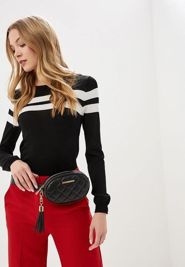 ALDO | черный Женская черная поясная сумка ALDO | Clouty