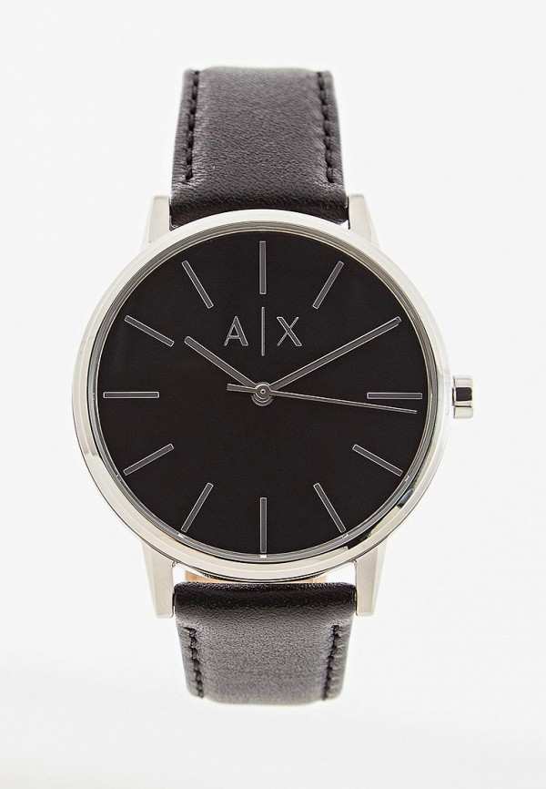 Armani Exchange   черный Мужские черные часы Armani Exchange   Clouty