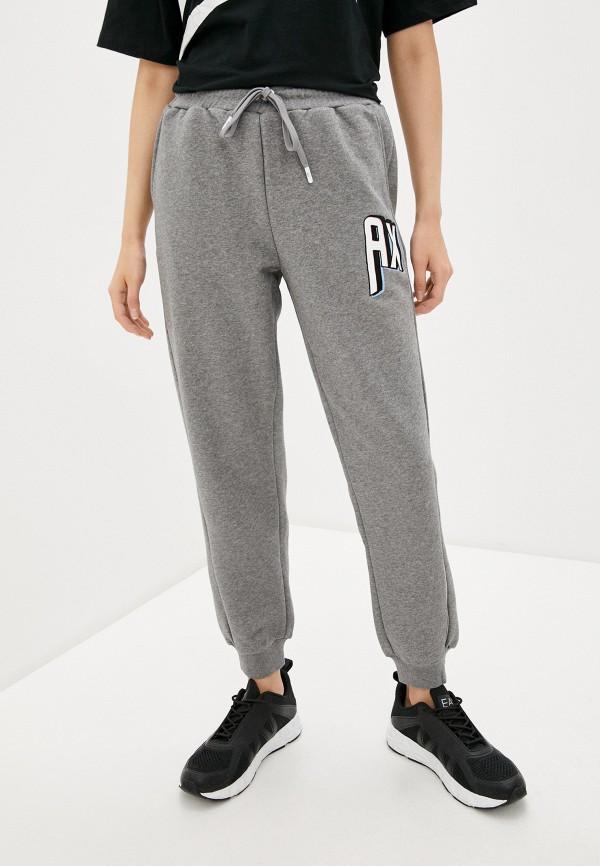Armani Exchange | серый Женские серые спортивные брюки Armani Exchange | Clouty