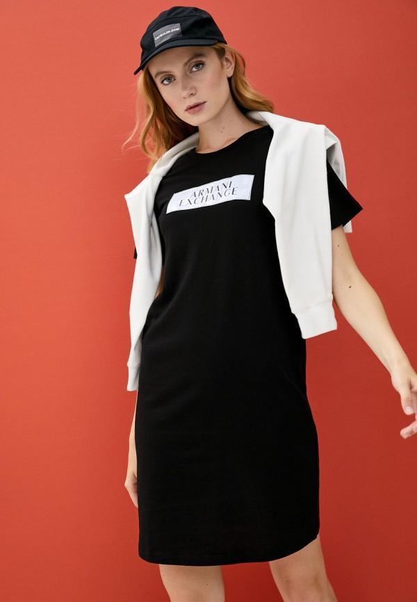Armani Exchange | черный Платье Armani Exchange | Clouty