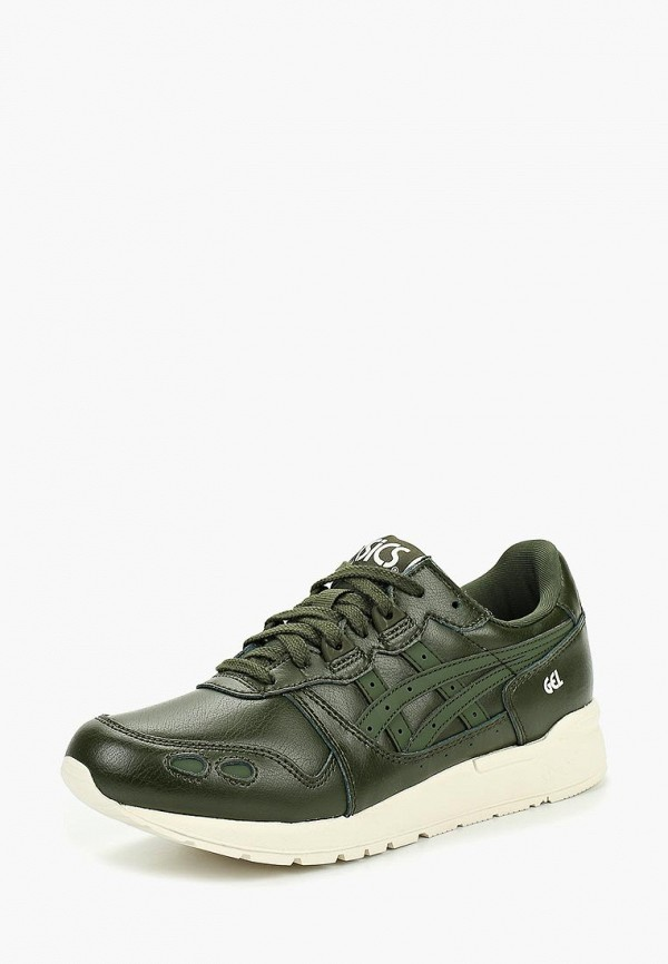 ASICS | зеленый Зеленые кроссовки ASICS резина | Clouty
