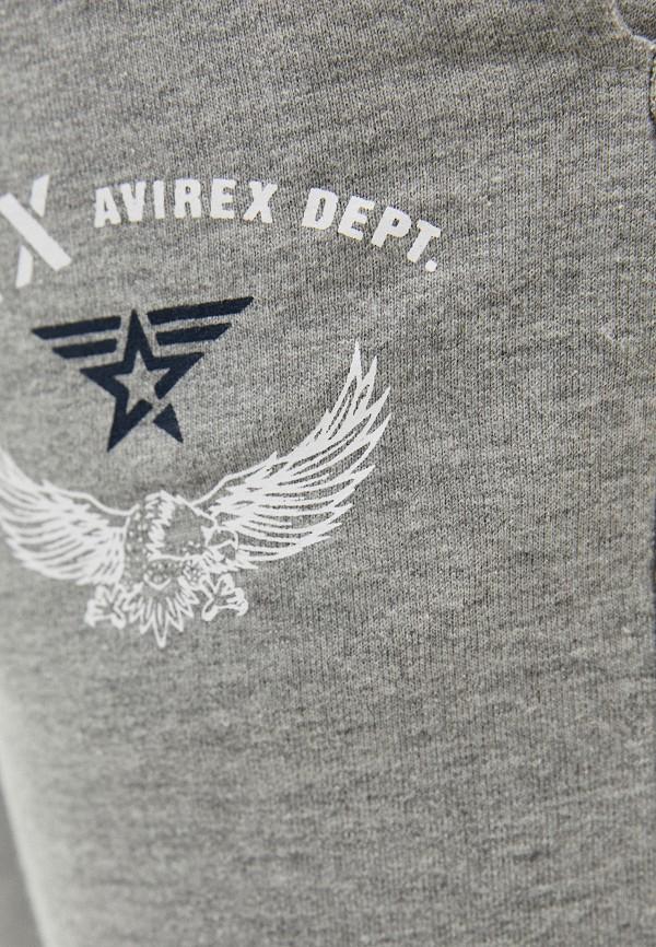 Avirex   серый Мужские серые спортивные брюки Avirex   Clouty