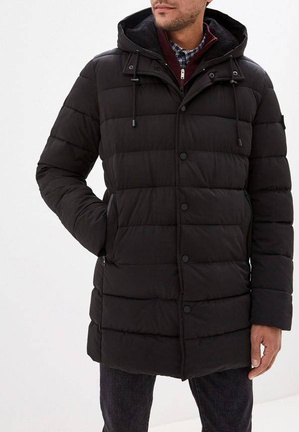 Baon | черный Мужская черная утепленная куртка Baon | Clouty
