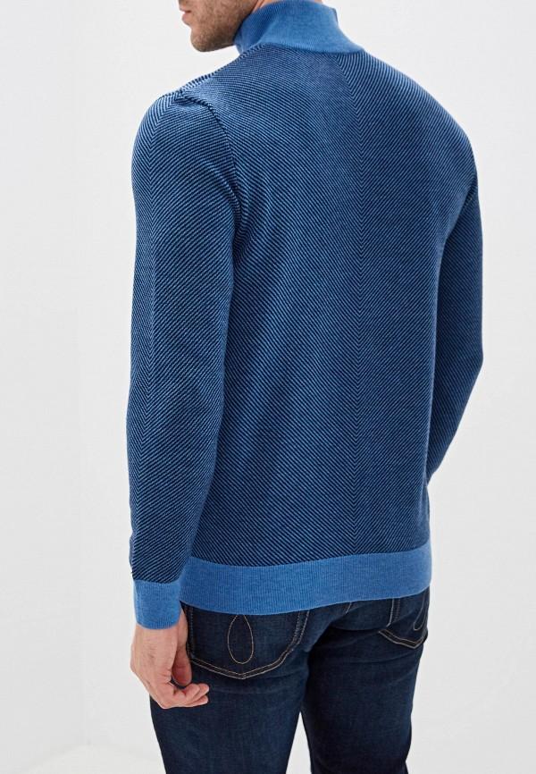 Baon | Мужской зимний синий свитер Baon | Clouty