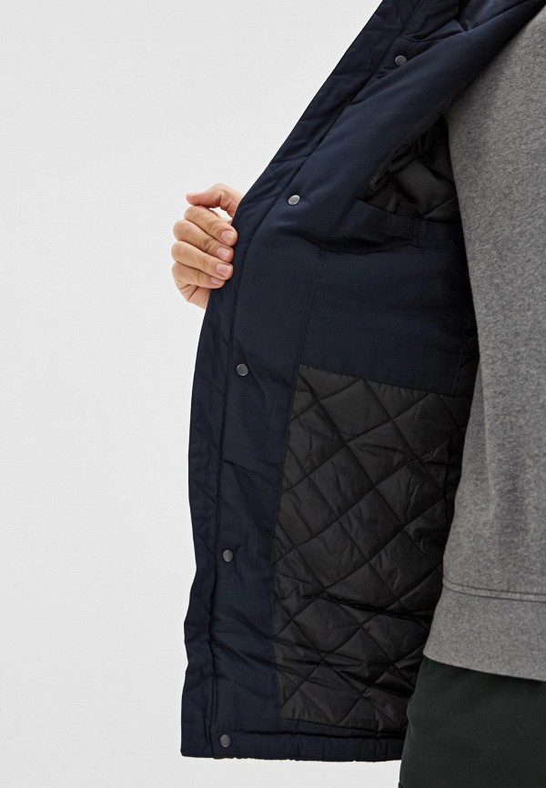 Baon | синий Мужская синяя утепленная куртка Baon | Clouty