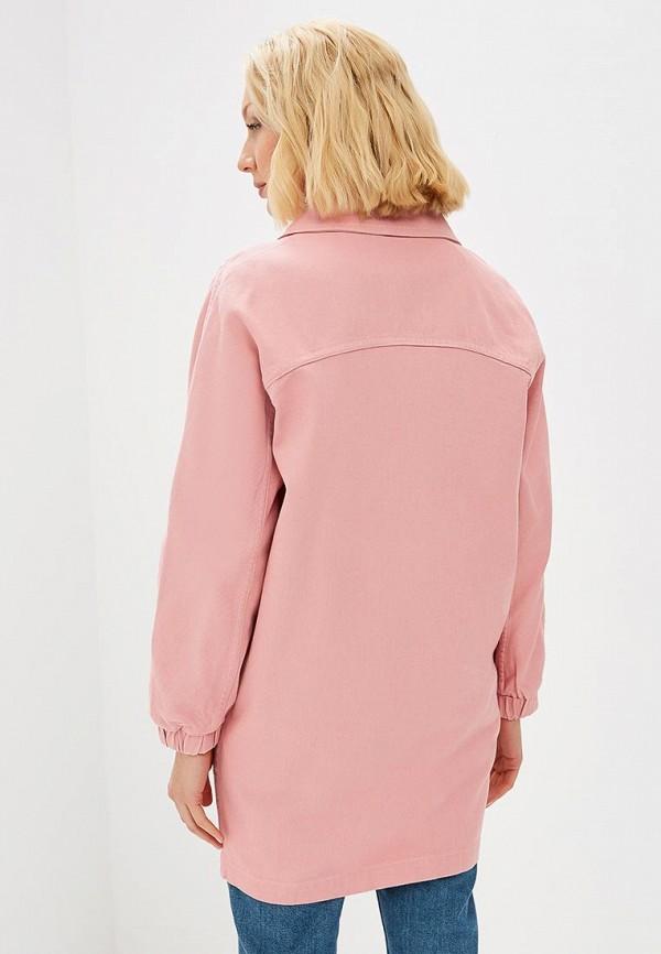 Baon | розовый Женская розовая джинсовая куртка Baon | Clouty