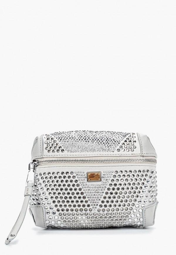 Baggini | серый Женская серая поясная сумка Baggini | Clouty