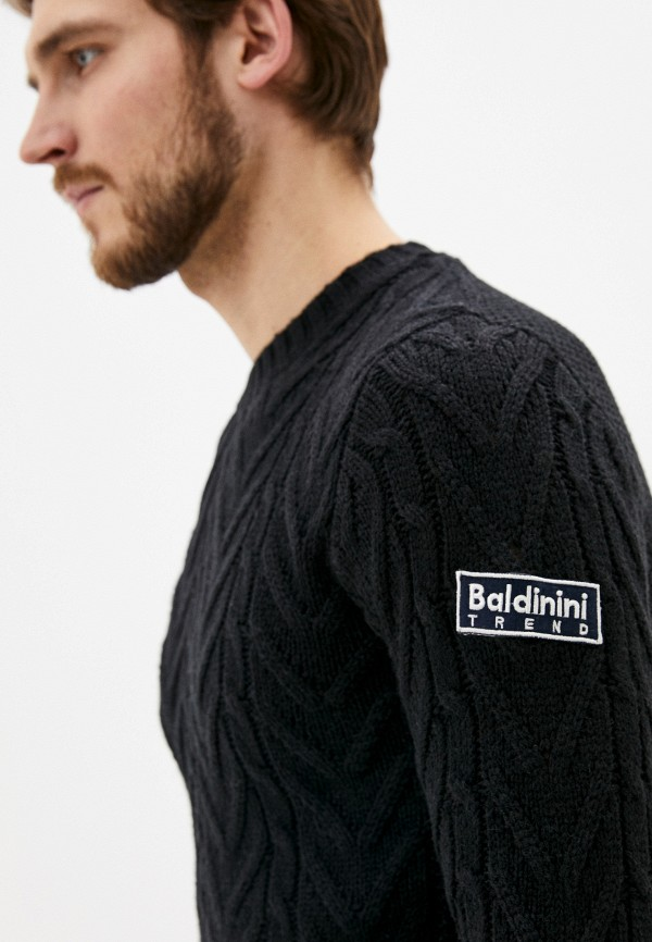 Baldinini | Мужской черный джемпер Baldinini | Clouty