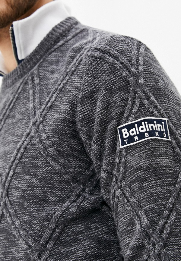Baldinini | Мужской серый джемпер Baldinini | Clouty