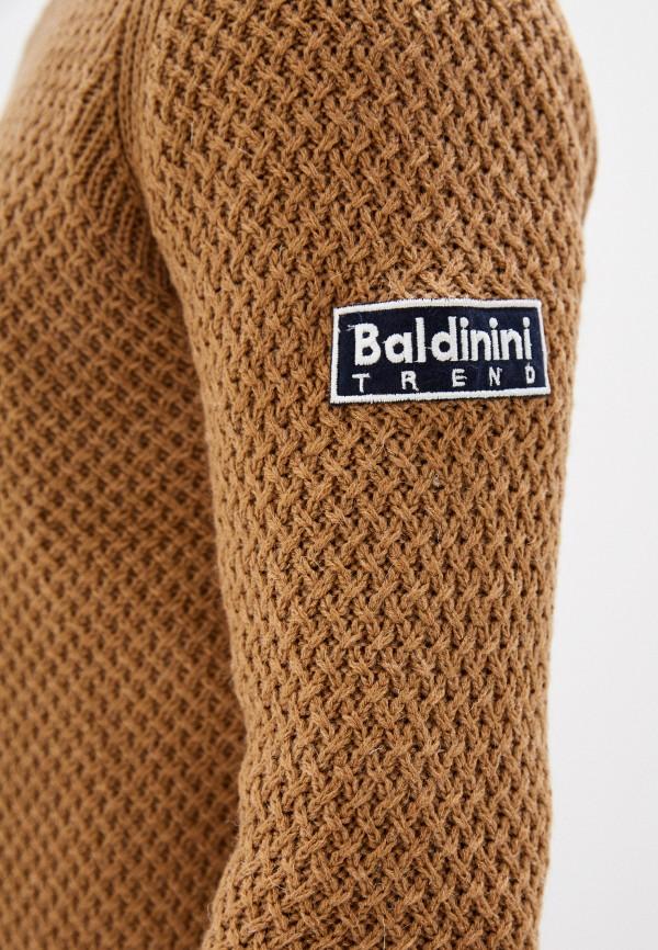 Baldinini | Мужской коричневый джемпер Baldinini | Clouty