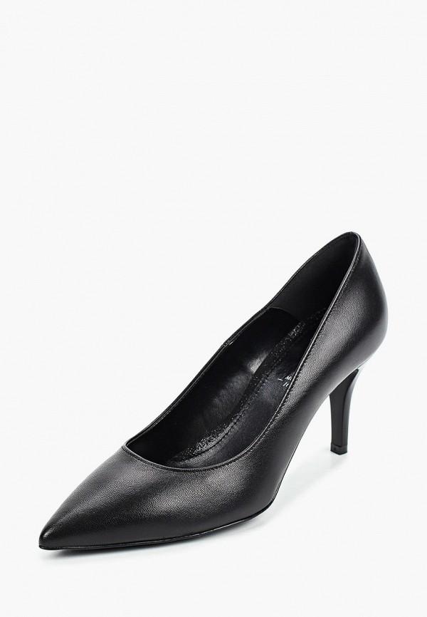 Bata   черный Женские черные туфли Bata искусственный материал   Clouty