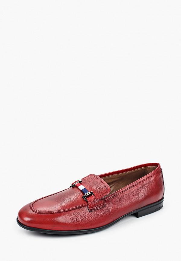 Baltarini | красный Мужские красные лоферы Baltarini резина | Clouty