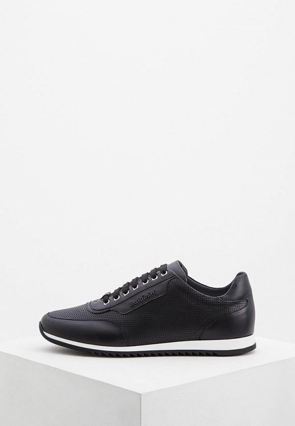 Baldinini | черный Мужские черные кроссовки Baldinini резина | Clouty