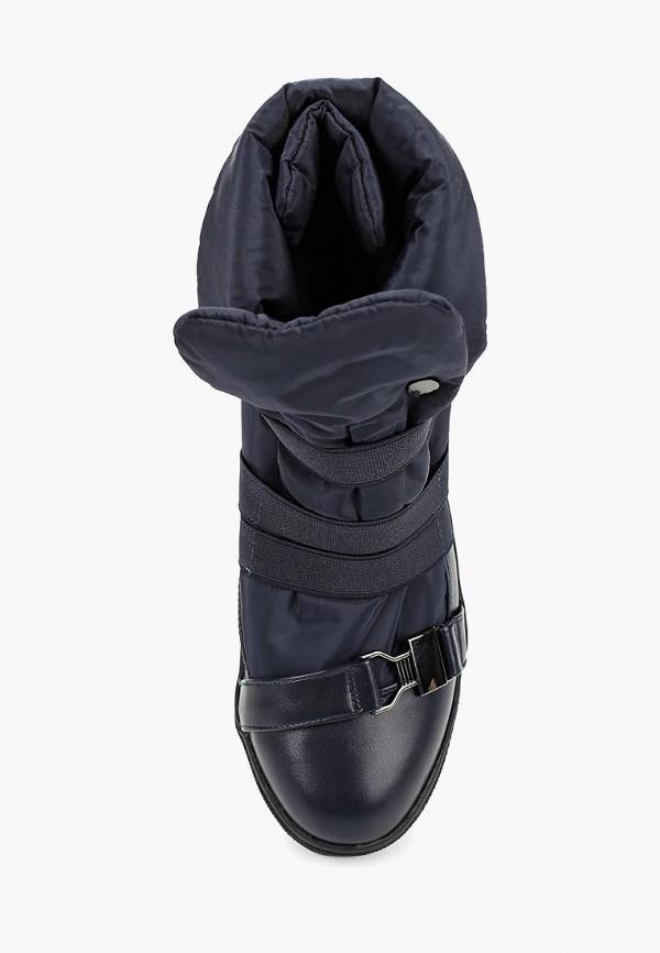 Betsy | синий Синие ботинки Betsy искусственный материал для девочек | Clouty