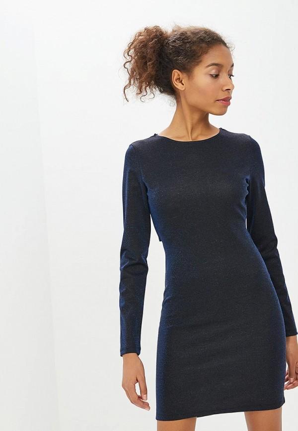 Befree   синий Женское синее платье Befree   Clouty