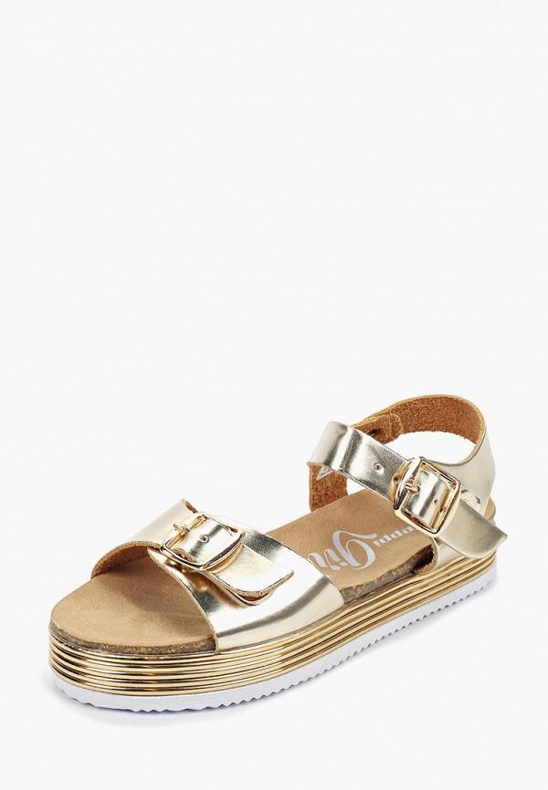 Beppi | золотой Летние золотые сандалии Beppi этиленвинилацетат для девочек | Clouty