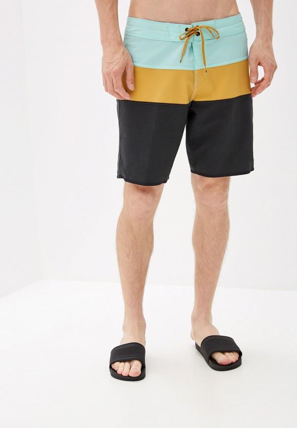 BILLABONG | коричневый Мужские летние коричневые шорты для плавания BILLABONG | Clouty