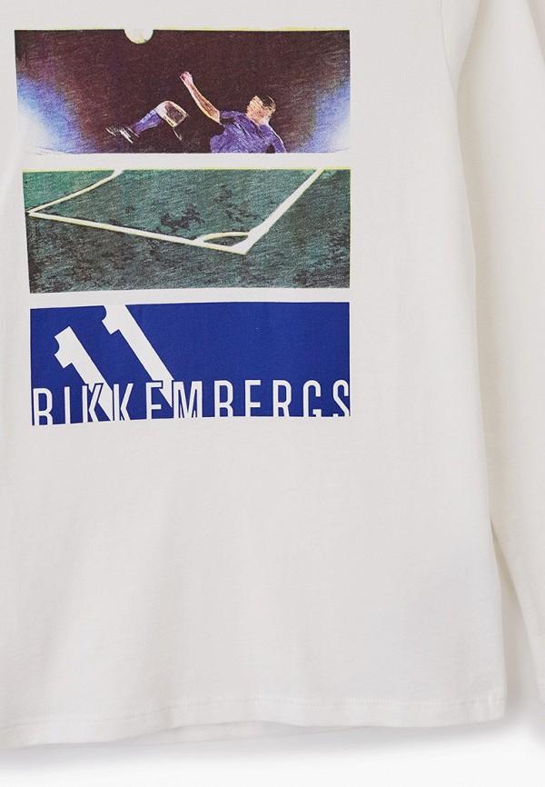 Bikkembergs | Белый лонгслив Bikkembergs для мальчиков | Clouty