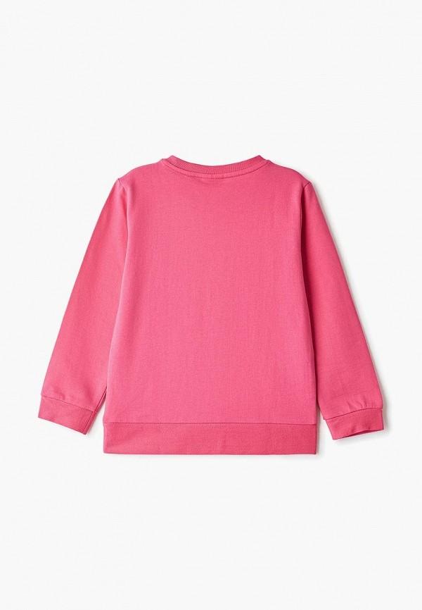 Blukids | Розовый свитшот Blukids для девочек | Clouty