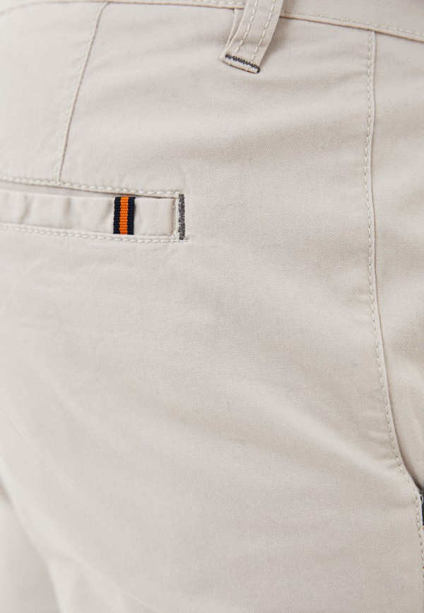 Bruebeck | бежевый Мужские бежевые шорты Bruebeck | Clouty