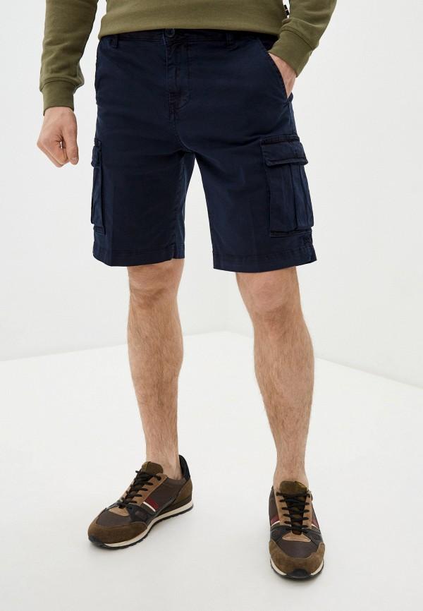 Brian Dales | синий Мужские синие шорты Brian Dales | Clouty
