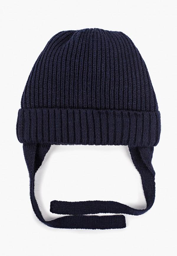 Button Blue | синий Зимняя синяя шапка Button Blue для мальчиков | Clouty