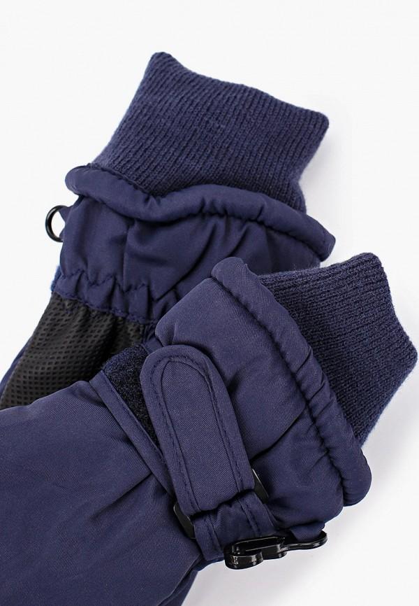 Button Blue | синий Зимние синие варежки Button Blue для мальчиков | Clouty