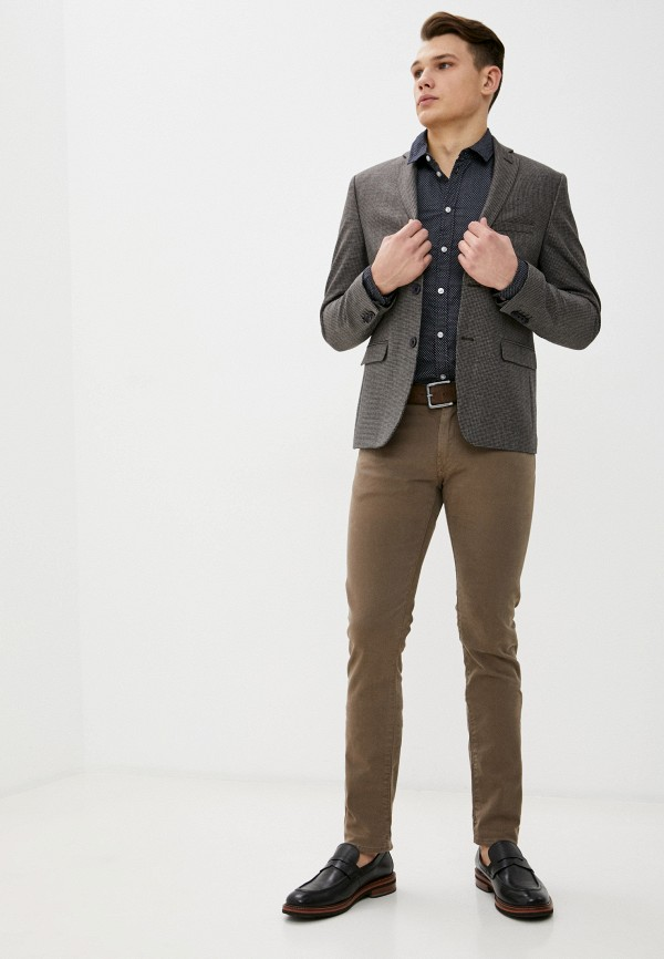 Casual Friday By Blend | коричневый Пиджак Casual Friday by Blend | Clouty