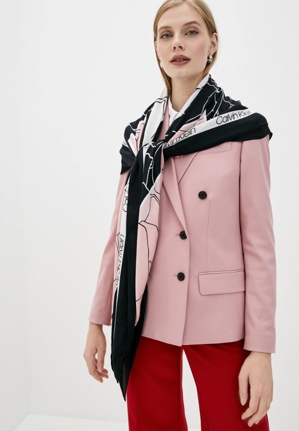 Calvin Klein   Розовый платок Calvin Klein   Clouty