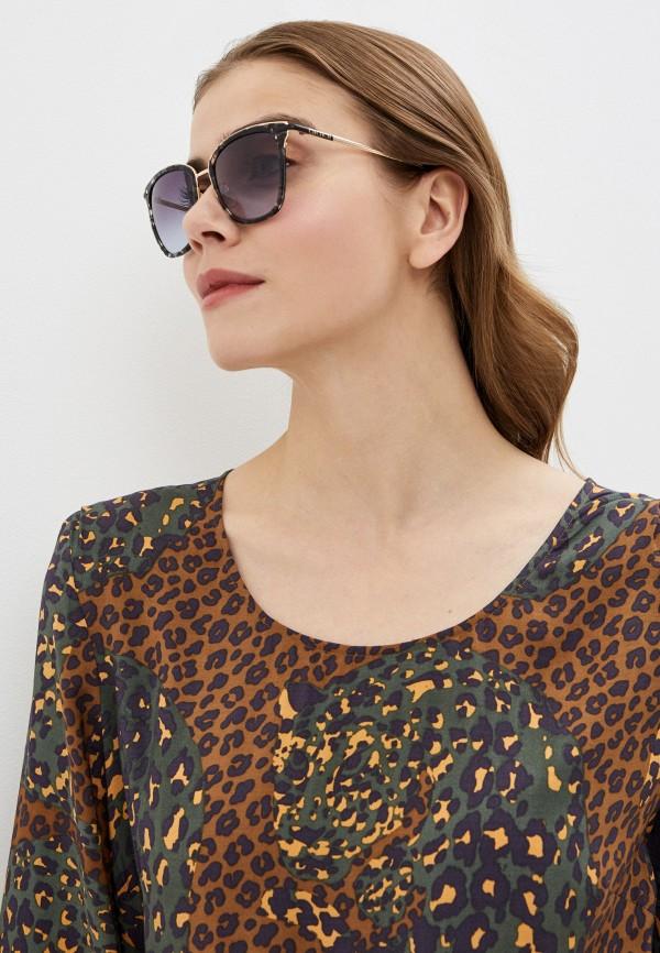 Carolina Herrera | синий Женские летние синие солнцезащитные очки Carolina Herrera | Clouty