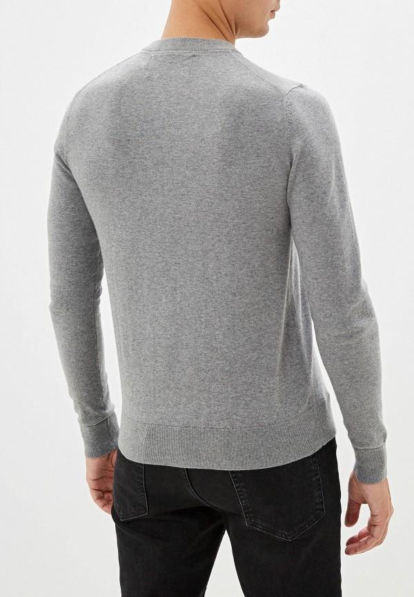 Calvin Klein Jeans | Мужской серый джемпер Calvin Klein Jeans | Clouty