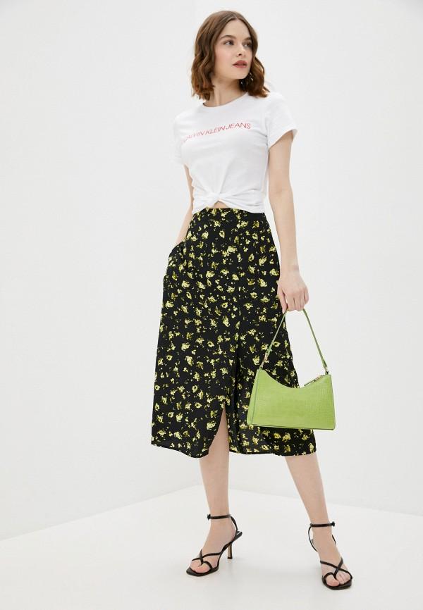 Calvin Klein Jeans | черный Черная юбка Calvin Klein Jeans | Clouty