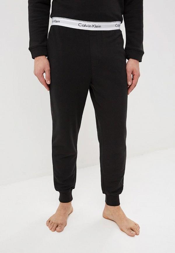 Calvin Klein   черный Мужские черные домашние брюки Calvin Klein   Clouty