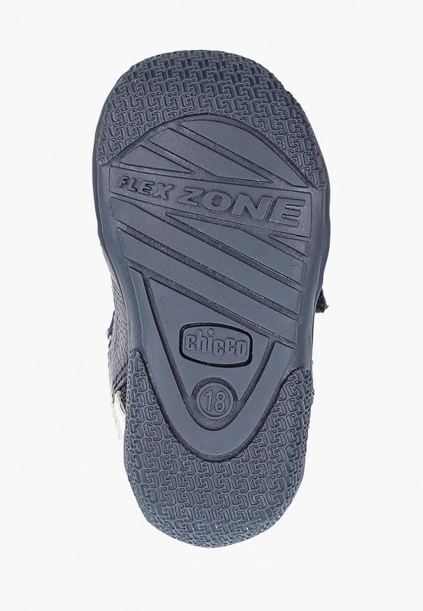 Chicco | синий Синие ботинки Chicco искусственный материал для мальчиков | Clouty