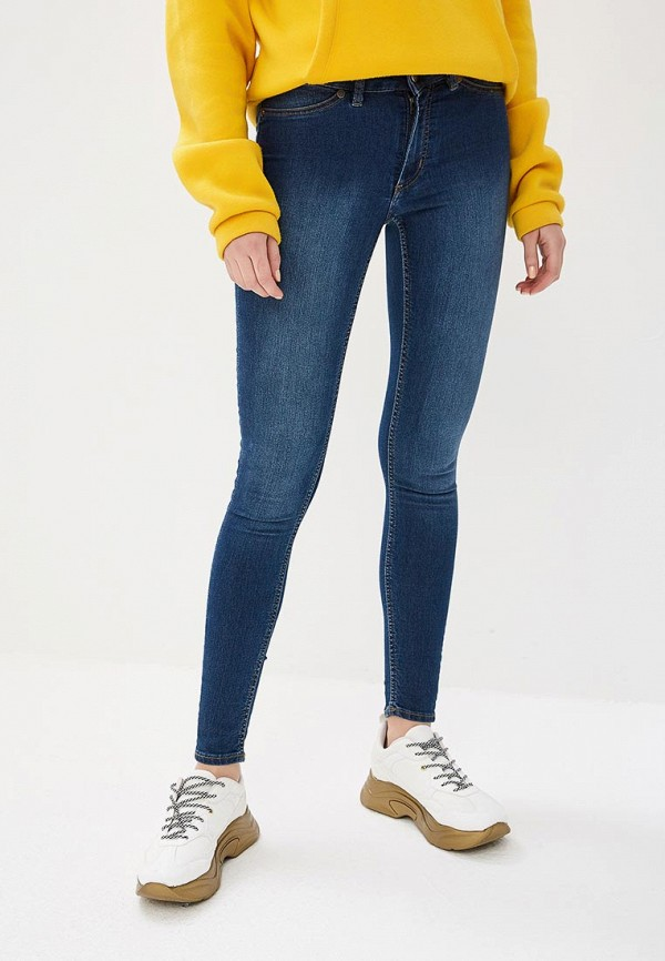 CHEAP MONDAY | синий Женские синие джинсы CHEAP MONDAY | Clouty