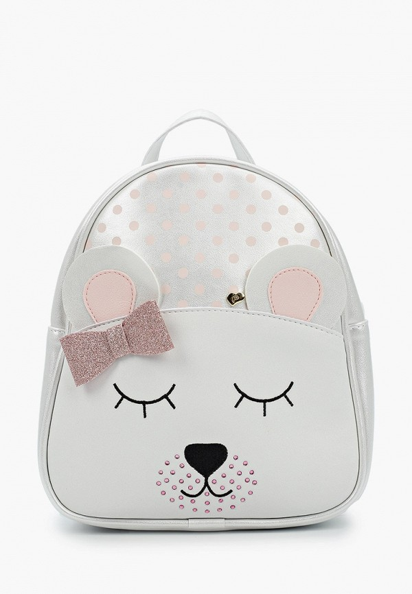 Choupette | Белый рюкзак Choupette для девочек | Clouty
