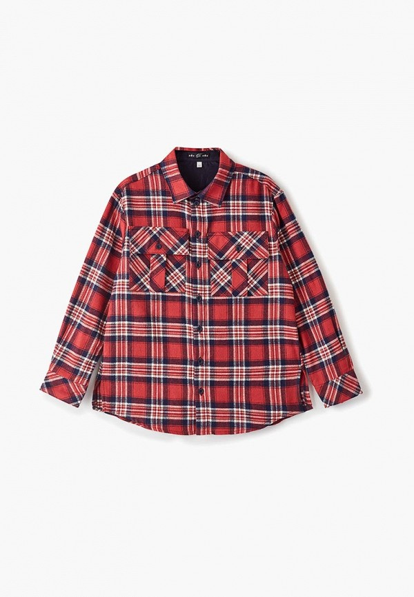 Choupette | красный Красная рубашка Choupette для мальчиков | Clouty