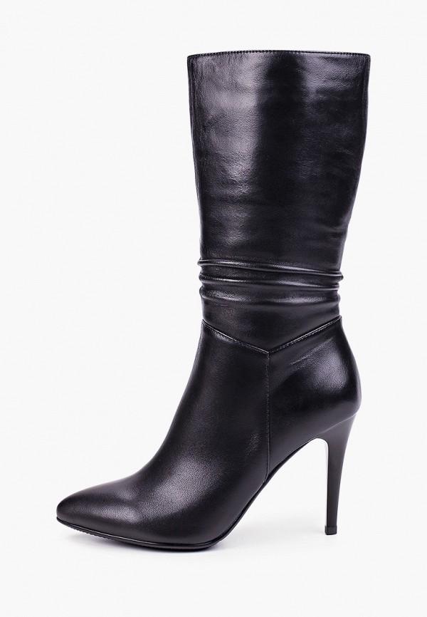 Covani | черный Женские черные полусапоги Covani искусственный материал | Clouty